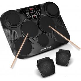 Batería digital de mesa de 7 tambores Pyle