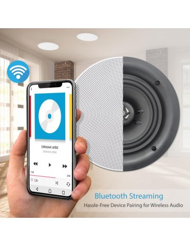 Parlantes de Cielo o Muro Pyle PDICBT286 Bluetooth