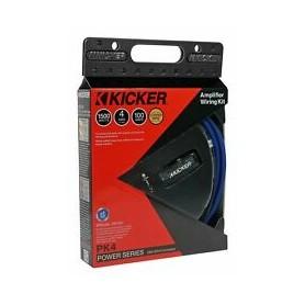 Kit de Cables Kicker para Amplificador 4 AWG
