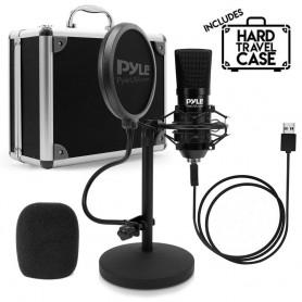 Microfono USB Podcast Pyle