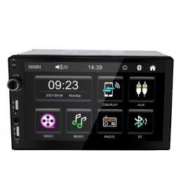 Radio Auto Doble Din GTI 8100.1