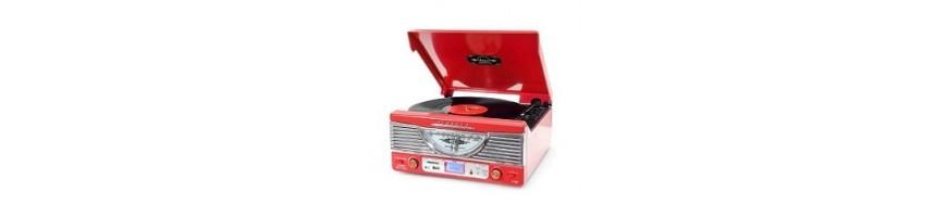 Tornamesas y Radios Vintage